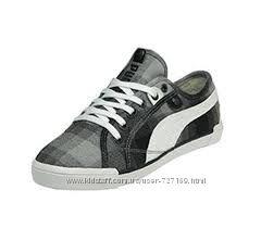 Puma классные кросовки кеды на меху оригинал