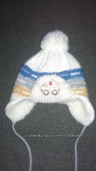 Anpa шапка шарфик зимний набор одет пару раз