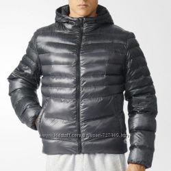 Adidas зимняя куртка пуховик S-M