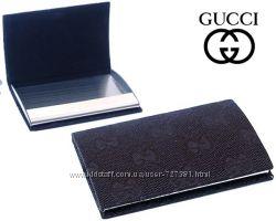 Элегантные визитницы Gucci, Dior, Versace, Salvatore Ferragamo