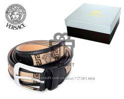 Мужские брендовые ремни Brioni, Versace, Bottega Veneta