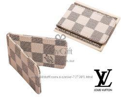Зажимы для денег Louis Vuitton, Gucci