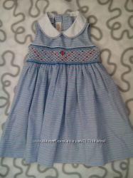 платье святкова сукня сарафан котон сша 12 мес