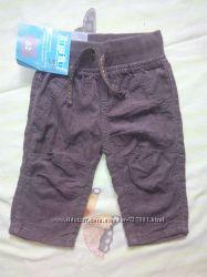 Новые вельветовые штаны р. 62