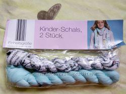Легкие весенние шарфики для девочки