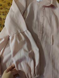 Блуза пудрового цвета, lost ink 42, 44, с, м