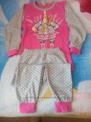 Пижама для девочки, отличного качества,  хлопок.