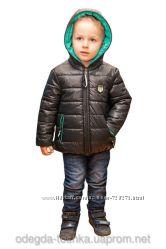 Двухсторонняя демисезонная куртка для мальчика и девочки от 2 до 10 лет.