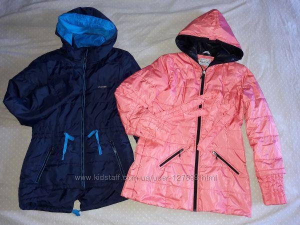 Куртка пальто деми синтепон удлиненная