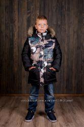Куртка парка Милитари ТМ Малыш