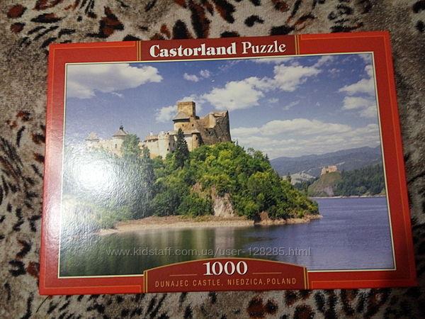 Пазл 1000 элементов 68х47см замок река природа горы Польша яркие цвета