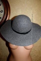 56 M Eur. H&M шляпа с большими полями 100 Шерсть