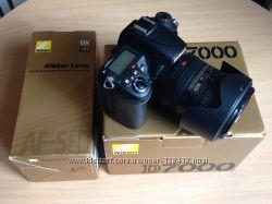 Фотоаппарат цифровой Nikon D7000 и объектив Nikkor - набор комплект