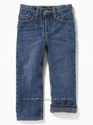 Теплые джинсы на флисе OLD NAVY для мальчиков  в наличии