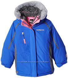 Зимняя курточка 3 в 1, на 4 г, р. 104-110