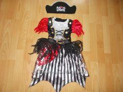 Карнавальный костюм Пиратка на 5-7 лет