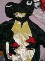 Новогодний карнавальный костюм лягушка, жабка, бандана черепа