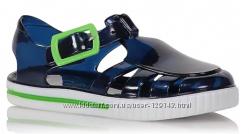 Желейные сандалии с контрастной отделкой george