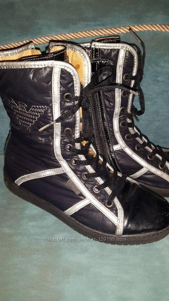 Демисезонные ботиночки Armani.