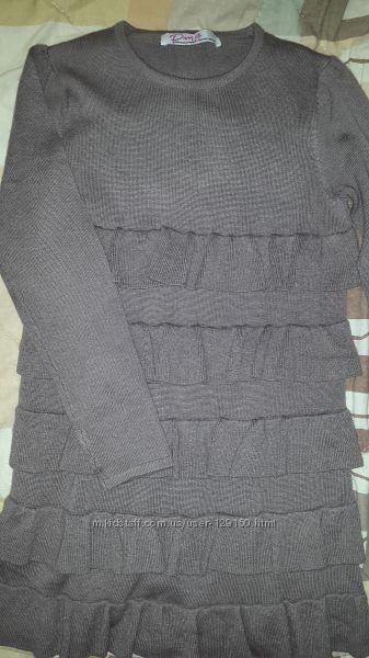 Тёплое платье-туника Primigi.