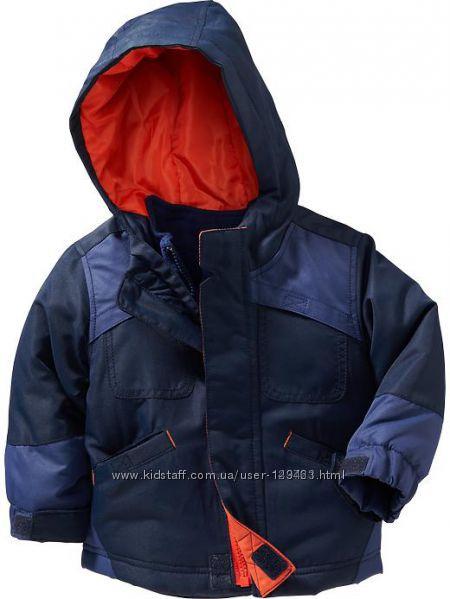 Курточка и флиска Old Navy в наличии 4т 3 в 1