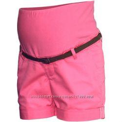 Классные шорты для беременных от H&M, 2 цвета 50-52 размер