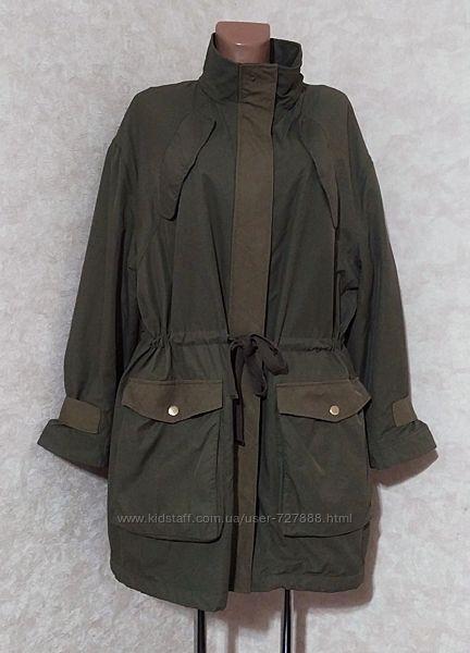 Куртка парка карго оверсайз, h&m, l-xl