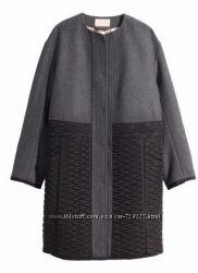 Новое женское пальто H&M, оверсайз, на размер XL