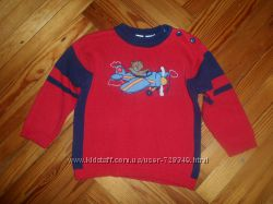 Теплый свитер на 2-3 года рост 92-98