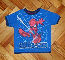 Футболка Spiderman на 9-12 мес