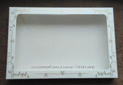 Продам картонные коробочки для пряников с пластиковым окошком
