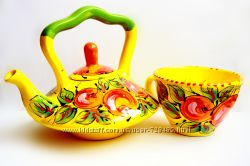 Кружки и чайники. Авторская керамика.