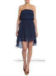 Izabel London. Платье с открытыми плечами. Асимметрия. Воланы. Наш размер 48