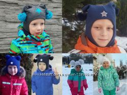 Шерстяные шлемы на хлопковой подкладке  - отличное качествоВ наличии