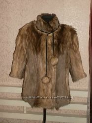 Натуральна шуба - Степная собака койот