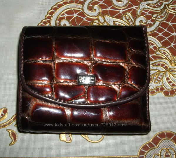 Замечательный кошелек портмоне WanLima кожа