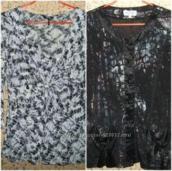 Красивая блузка кофта р. 48-50