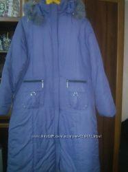 Зимове балонове пальто