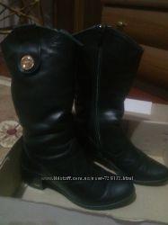 Шкіряні чоботи, як нові
