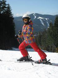 Лыжный костюм на ребенка 8-9 лет унисекс