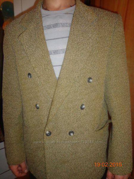 Пиджак плотная ткань
