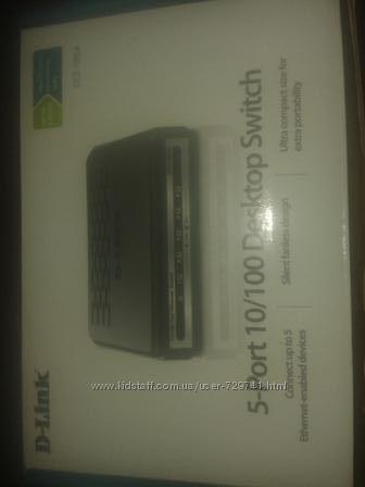 D-Link 5-port 10100 Desktop Switch
