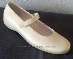 39 Кожаные итальянские молочные туфельки супер цена