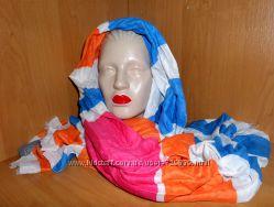 Бомбезный шарф C&A с шелком