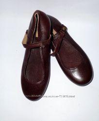 37 Кожаные туфельки Zara  люкс