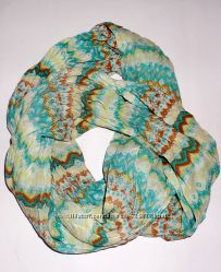Натуральный хлопковый шарф-снуд C&A