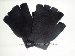 Модные перчатки -митенки от C&A