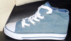 34 Высокие джинсовые кеды C&A хит цена