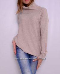 Удлиненные свитера свободного кроя, выбор цветов