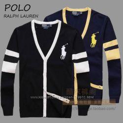 брендовые мужские свитера джемпера Polo Ralph Lauren